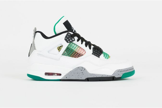 W Air Jordan 4 Retro 'LUCID GREEN'