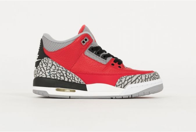 Air Jordan 3 Retro SE GS 'RED CEMENT'