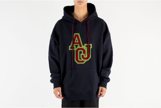 Boucle Embroidered Hoodie