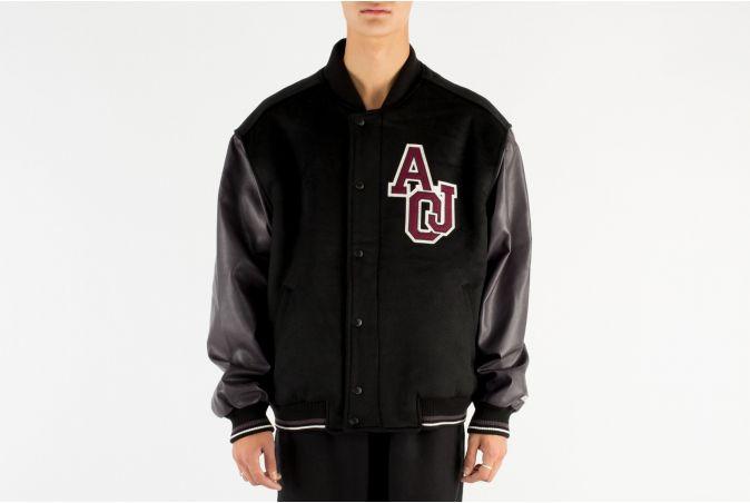 Oversized Varsity Stadium Jacket