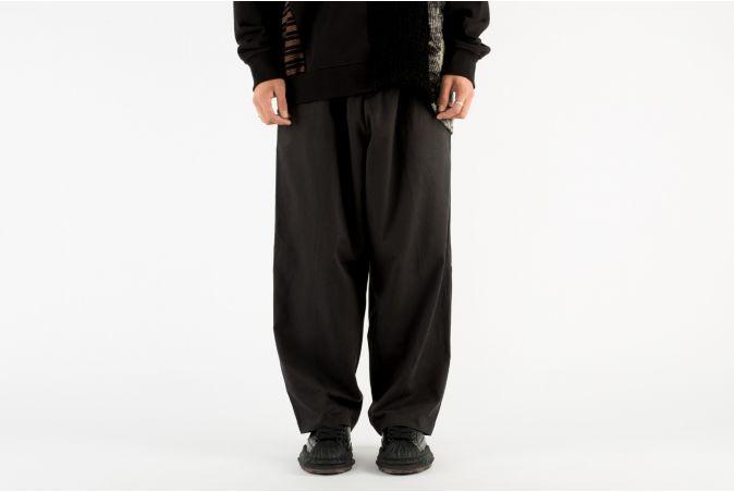 Plain Oversized Trousers