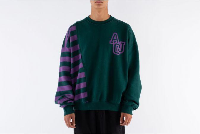 Twofold Stripe Sweatshirt