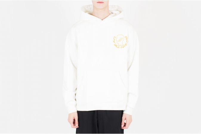 Folk Healing L/S Hooded Sweatshirt