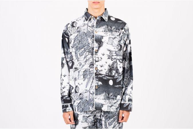 Wild Things Pajama Top