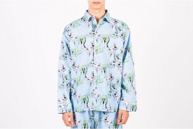 Yard Dawg Pajama Top