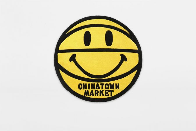Smiley Basketball Rug 4ft