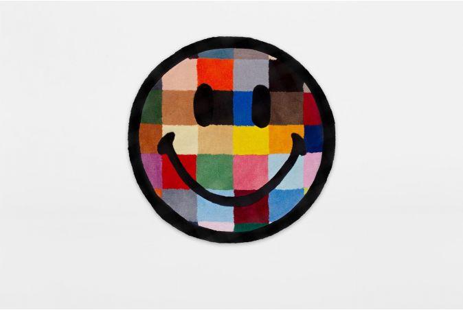 Smiley Color Tile Rug 4ft