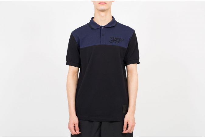 Embroidered Initial Pique Shirt