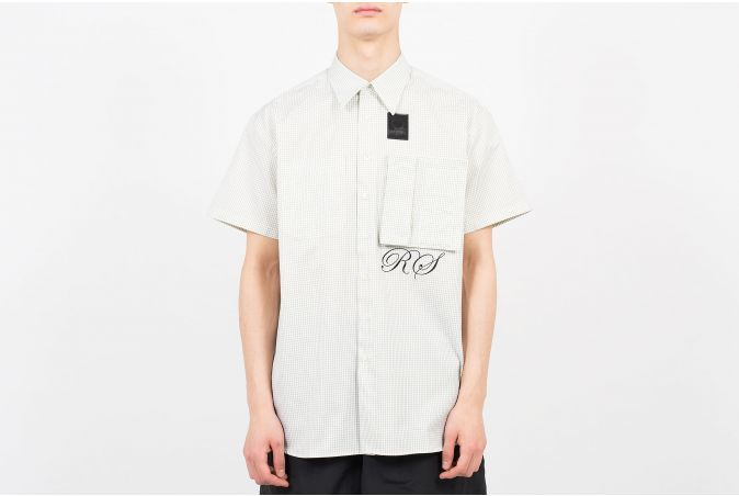 Space Pocket Micro-Check Shirt