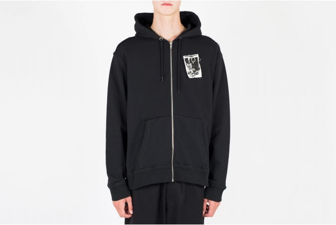RAF Patched Zip Through Hoody