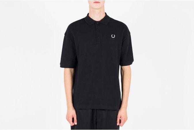 RAF Oversize Print Polo Shirt