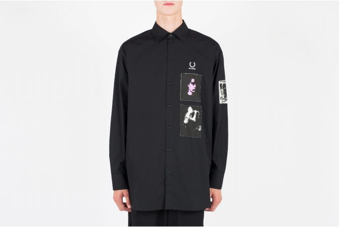 RAF Patched Oversize Shirt
