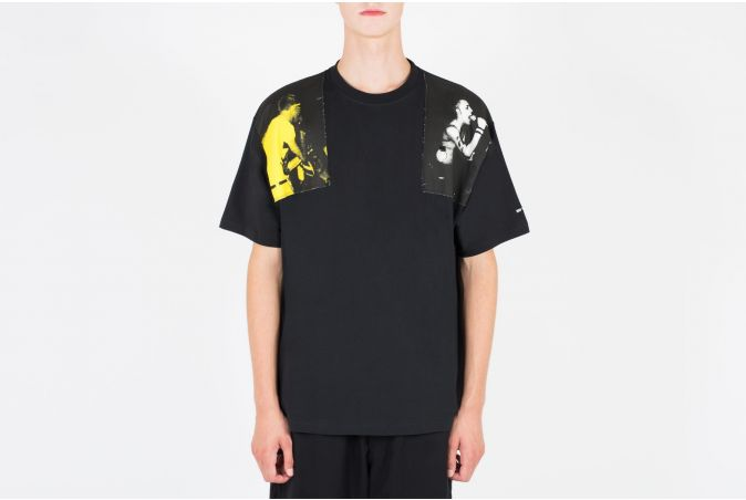 RAF Printed Panel T-Shirt