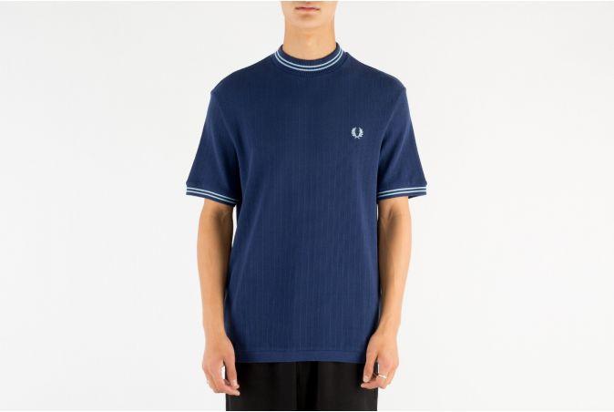 Crew Neck Piqué T-Shirt