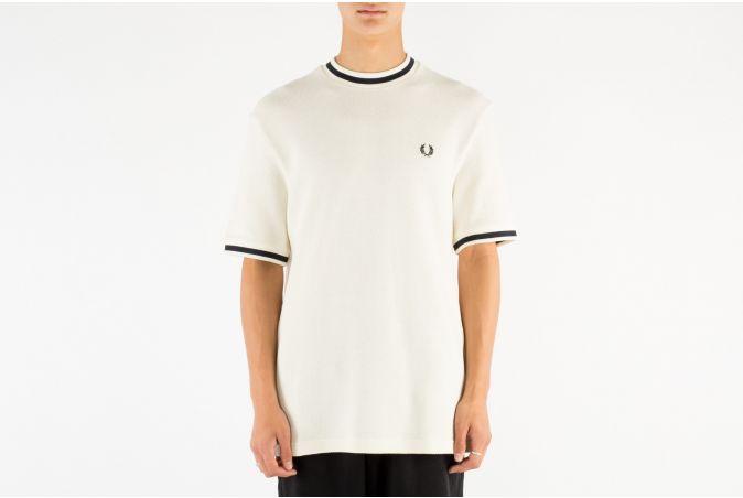 Textured Piqué T-Shirt