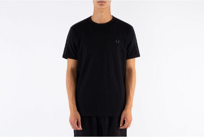 Tonal Taped Ringer T-Shirt