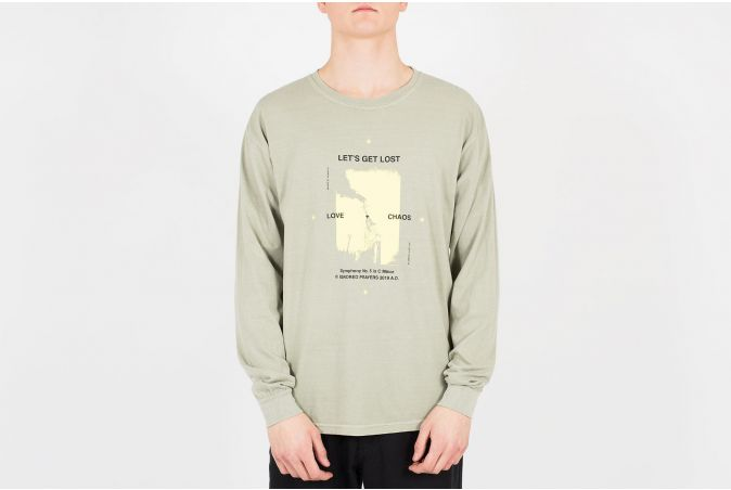 Lets Get Lost LS Tee