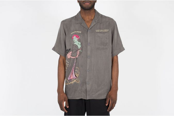 Space Geisha Summer Shirt