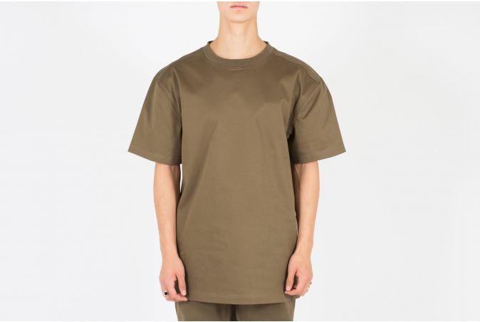 Oversized Woven T-Shirt