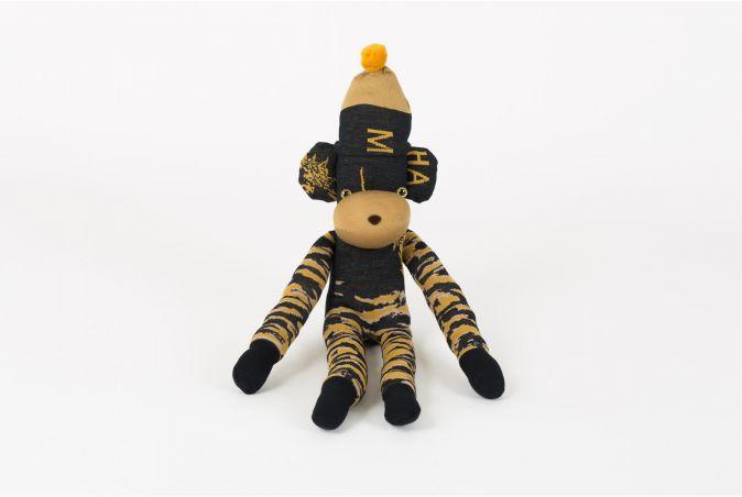 x Ayamé Tigerstripe Sock Monkey