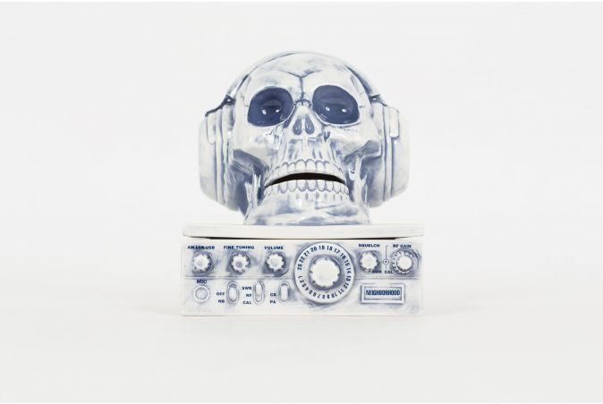 Booze Radio / CE-Incence Chamber 'SKULL'