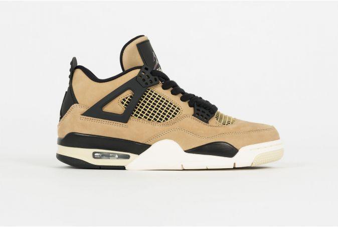 W Air Jordan 4 Retro 'Fossil'