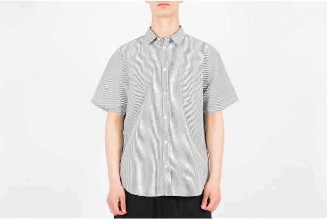 Osvald Seersucker SS Shirt