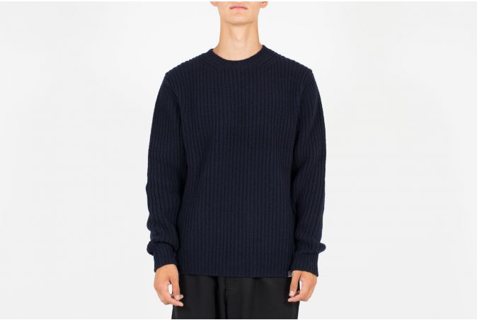 Viggo Military Stitch Crewneck