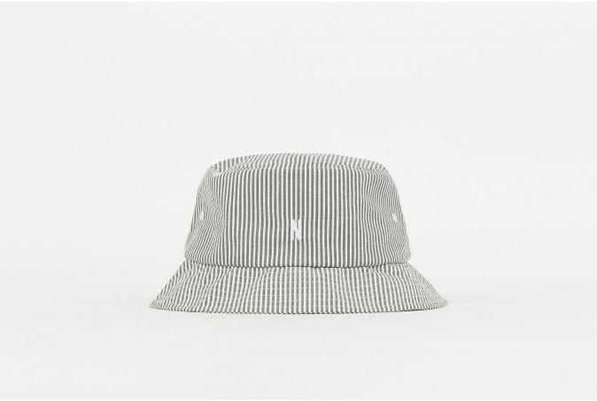 Seersucker Bucket Hat