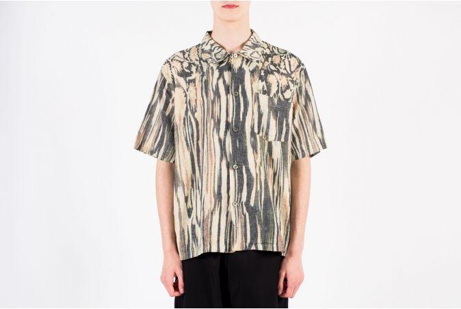 Box Shirt Shortsleeve Hanabi Print