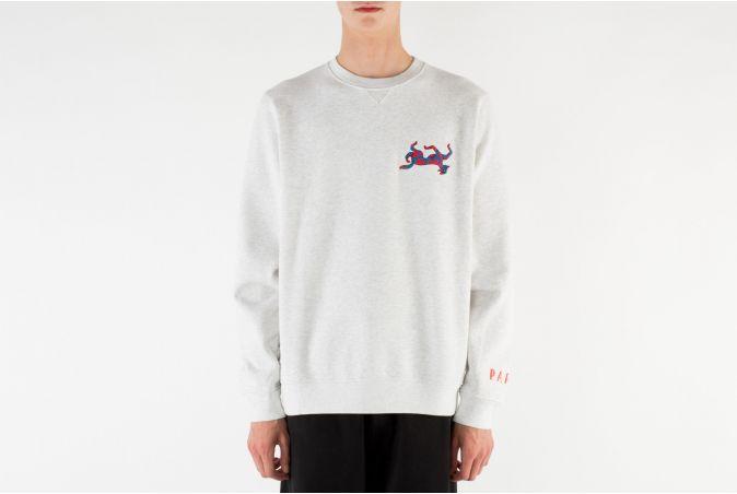 Upside Dog Race Crewneck Sweatshirt
