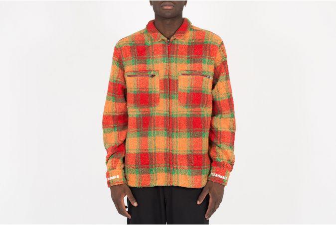 Sherbert Zip Overshirt