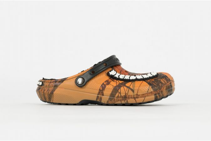 x Crocs Dylan Lined Mossy Oak Blaze Clog
