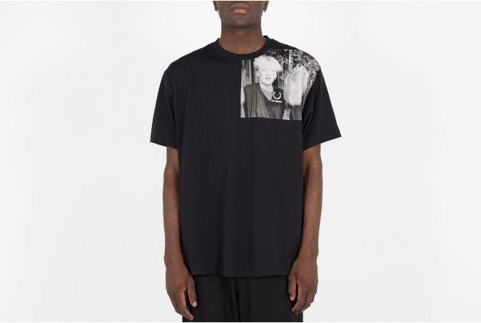 Shoulder Print T-Shirt