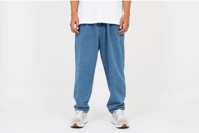 Single Pleat Denim Pant