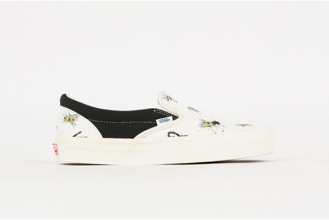 Ralph Steadman OG Classic Slip-On 'Bee'