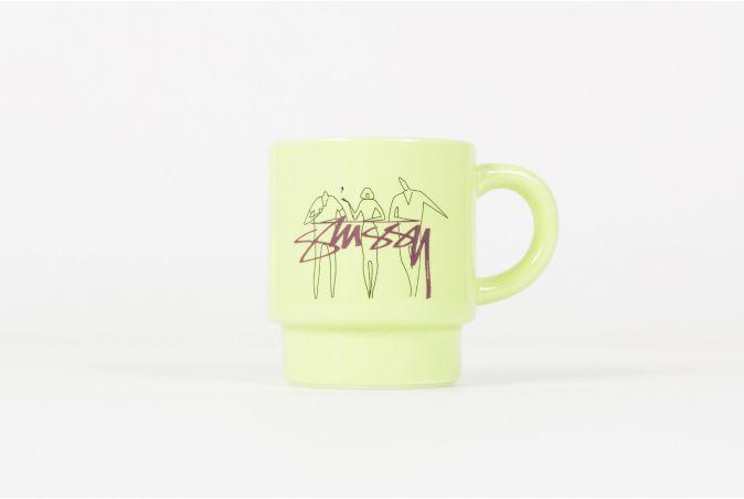 3 People Stacking Mug