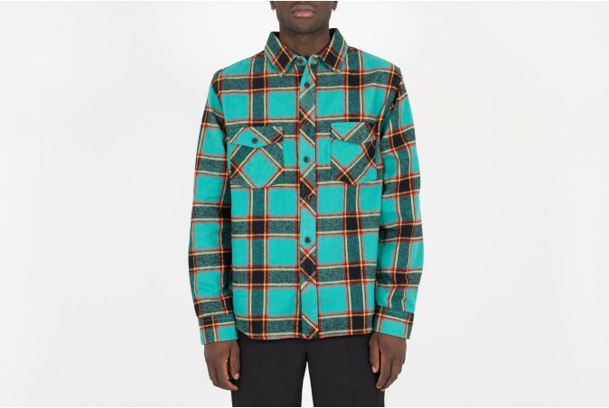 Ace Plaid LS Shirt