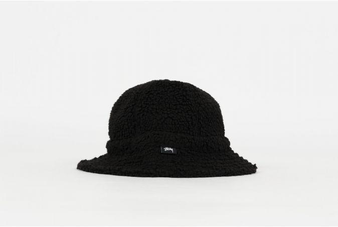 Sherpa Fleece Bell Bucket Hat