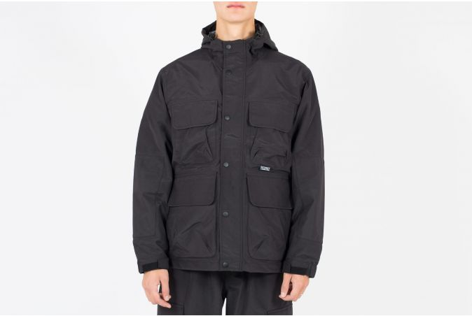 Solid Taped Seam Field Jacket