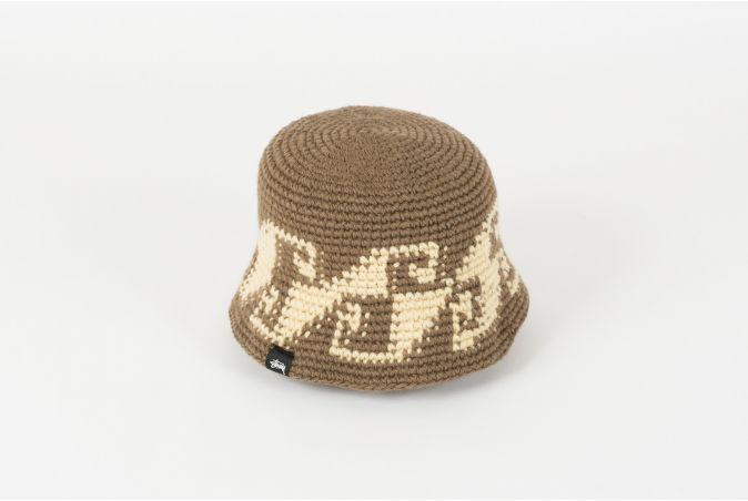 Waves Knit Bucket Hat
