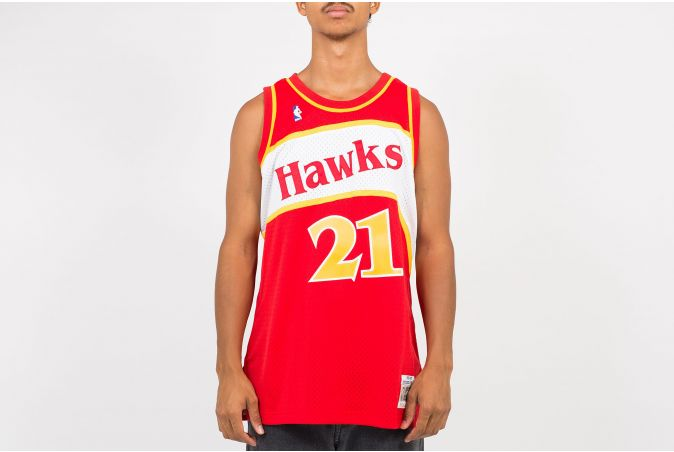 Swingman Jersey - Dominique Wilkins #21