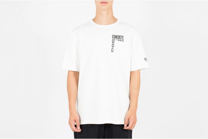 Concrete Pocket Tee