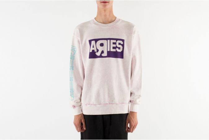 x Aries Crew Sweatshirt