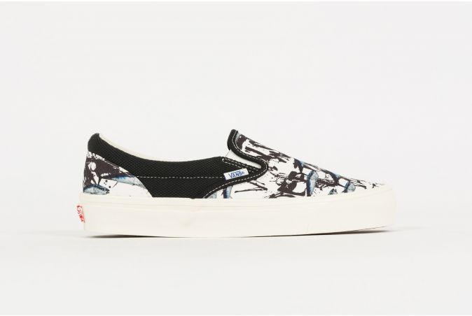 Ralph Steadman OG Classic Slip-On 'Blue Tuna'