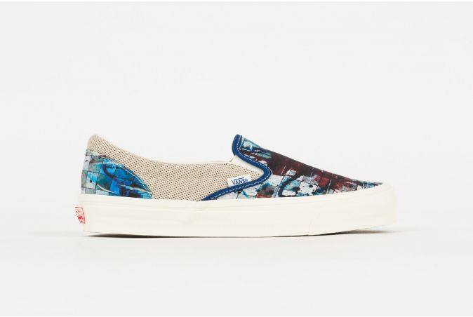 Ralph Steadman OG Classic Slip-On 'Checkerboard'