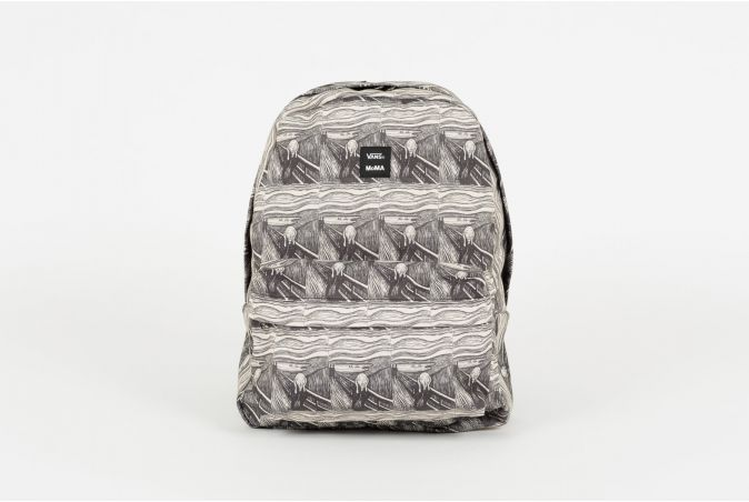 x MoMA Backpack Old Skool III 'EDWARD MUNCH'