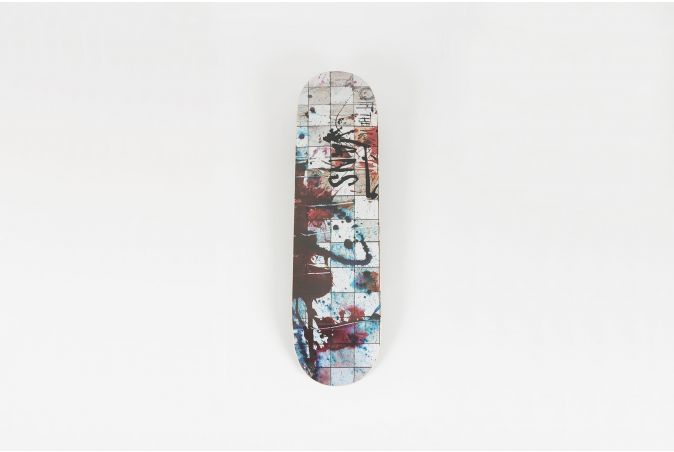 Ralph Steadman 'CHECKERBOARD' Skateboard Deck
