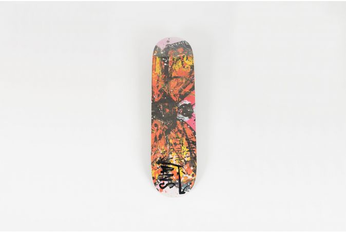 Ralph Steadman 'MONARCH' Skateboard Deck