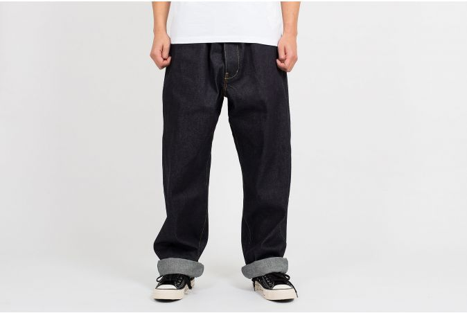 SS Hakama Pants Unwashed Red Edge